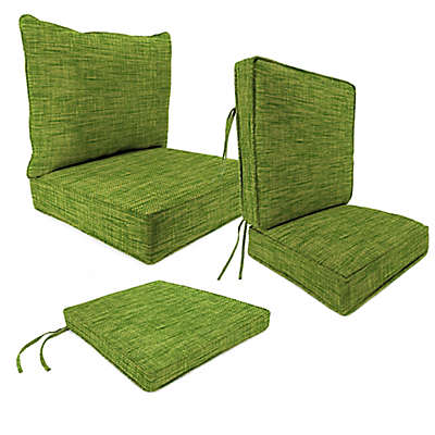 Outdoor Patio Cushions in Remi Palm