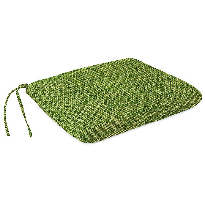 Alternate image 1 for Solid Outdoor Dining Seat Pad Cushion in Remi Palm