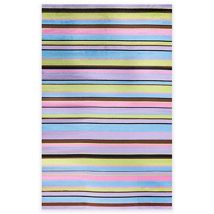Alternate image 1 for Concord Global Alisa Stripes Rug in Multicolor