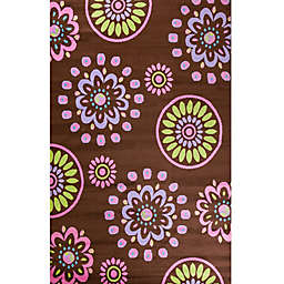 Alisa Flower Kaleidoscope Area Rug