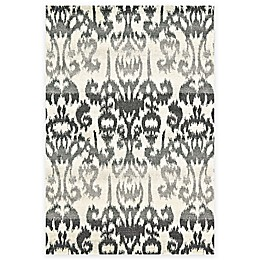 Feizy Mida Ikat Rug in Charcoal
