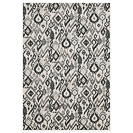 Feizy Mida Tribal Ikat Rug in Pewter