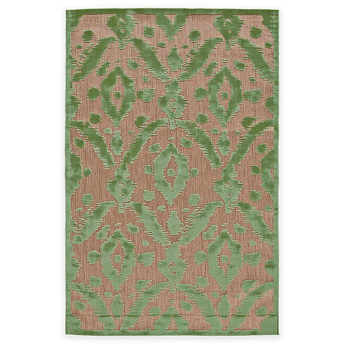 Alternate image 1 for Feizy Tahla I 7-Foot 6-Inch x 10-Foot 6-Inch Area Rug in Tan/Light Green