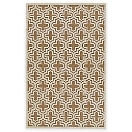 Feizy Tahla II Rug in Tan/Cotton