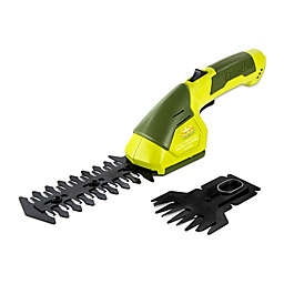 Sun Joe® 7.2-Volt 4-6 Inch Cordless Grass/ Hedge Trimmer in Green