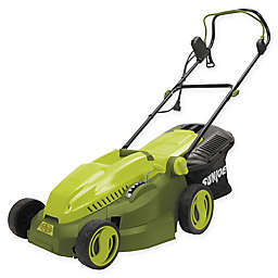 Sun Joe® 15-Inch Corded Electric Lawn Mower/Mulcher in Green