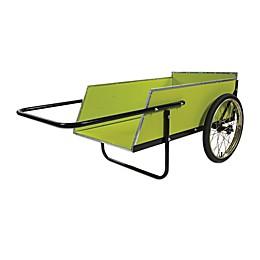 Sun Joe® 7 ft. Heavy Duty Garden Utility Cart in Green