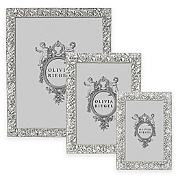 Olivia Riegel Eloise Picture Frame in Silver