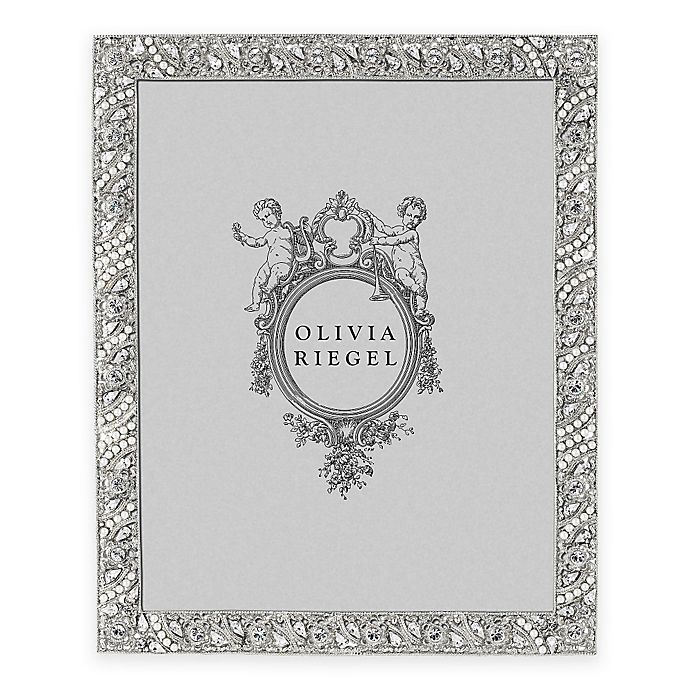 Alternate image 1 for Olivia Riegel 8-Inch x 10-Inch Eloise Picture Frame in Silver
