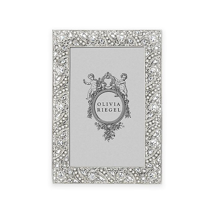 Alternate image 1 for Olivia Riegel 4-Inch x 6-Inch Eloise Picture Frame in Silver