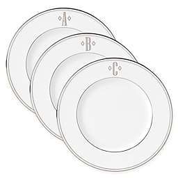 Lenox® Federal Platinum™ Monogrammed Block Letter Accent Plate