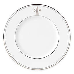 Lenox® Federal Platinum™ Monogrammed Block Letter Accent Plate