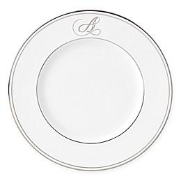 Lenox® Federal Platinum™ Monogrammed Script Letter Accent Plate