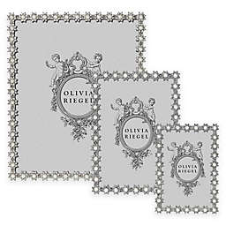 Olivia Riegel Swarovski® Crystal and Faux Pearl Accented Diana Picture Frame