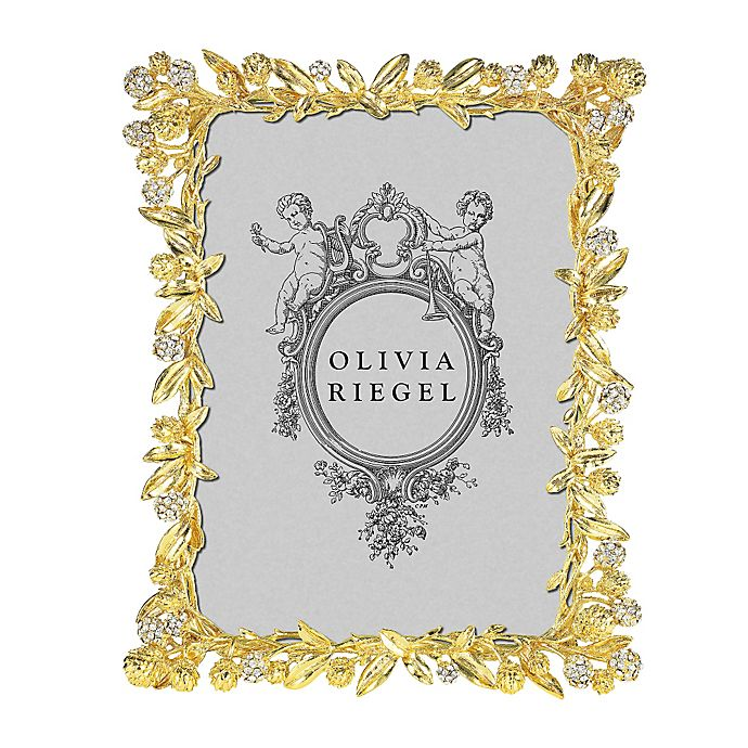 Alternate image 1 for Olivia Riegel Cornelia 5-Inch x 7-Inch Picture Frame in Gold