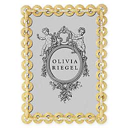 Olivia Riegel Harper 4-Inch x 6-Inch Picture Frame in Gold
