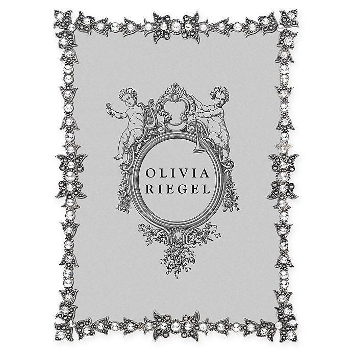 Alternate image 1 for Olivia Riegel Luxembourg 5-Inch x 7-Inch Picture Frame in Silver