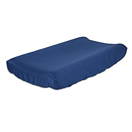 The Peanutshell™  Solid Changing Pad Cover in Navy