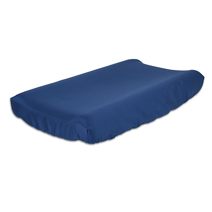 Alternate image 1 for The Peanutshell™  Solid Changing Pad Cover in Navy