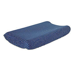 The Peanutshell™  Dots Changing Pad Cover in Navy