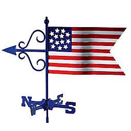 Good Directions© 16-Inch Americana Flag Weathervane