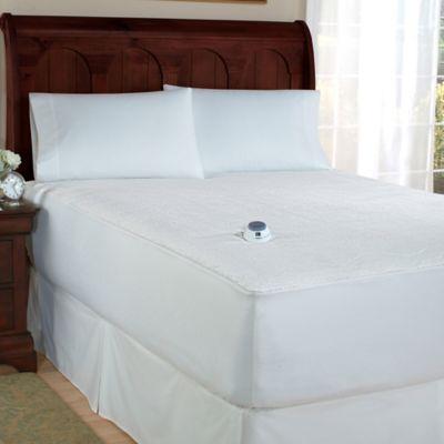 Therapedic 174 Microplush Electric Warming Mattress Pad Bed