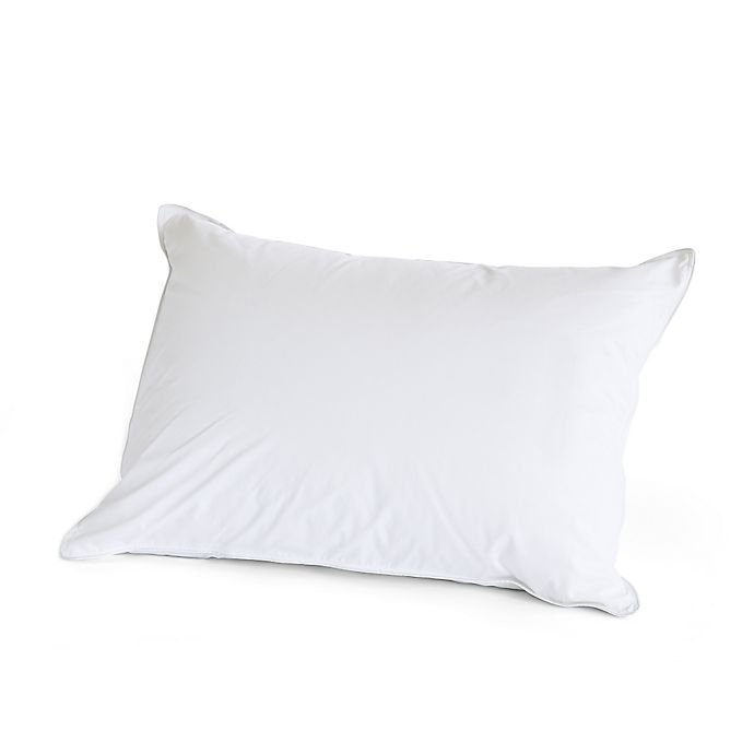 Alternate image 1 for The Pillow Bar® Standard Feather Down Back Sleeper Pillow