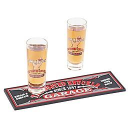Busted Knuckle Garage 3-Piece Shot Glass Gift Set