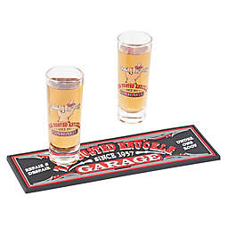 Busted Knuckle Garage 3-Piece Shot Glass Gift Set