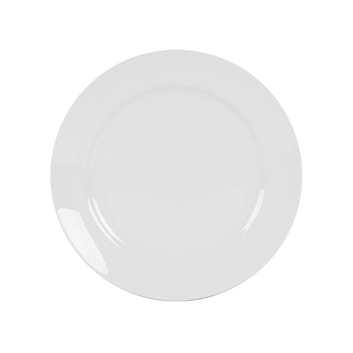 Alternate image 1 for Nevaeh White® by Fitz and Floyd® Grand Rim Appetizer Plate