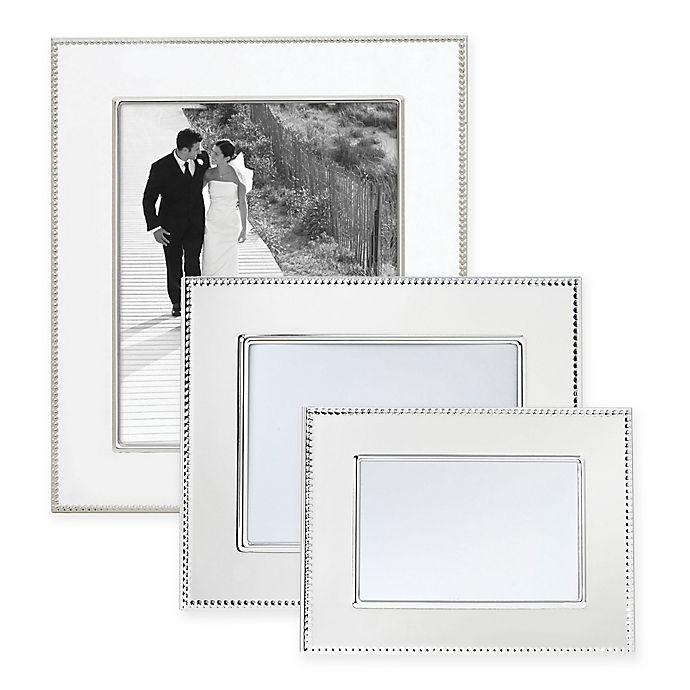 e25dc860907e Reed   Barton® Lyndon Silver-Plated Picture Frame