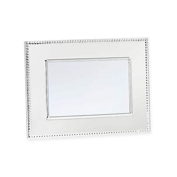 Alternate image 1 for Reed & Barton® Lyndon 4-Inch x 6-Inch Silver-Plated Picture Frame