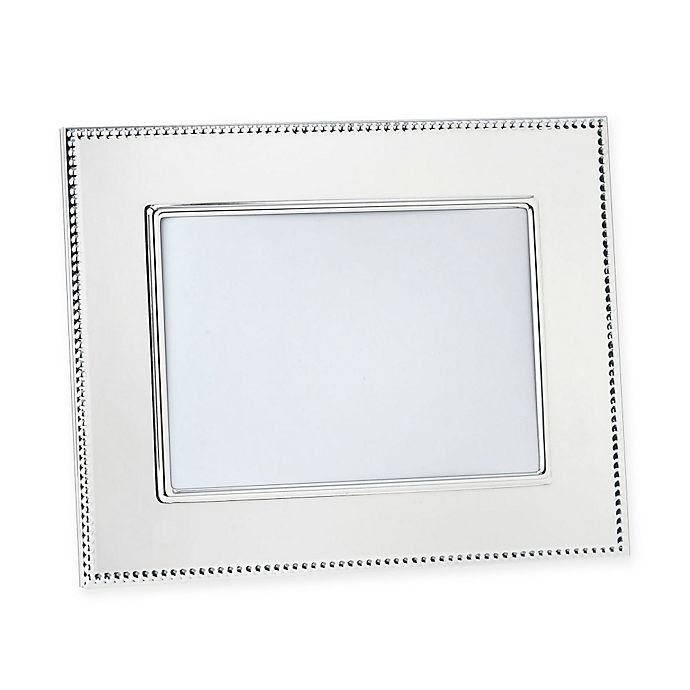 Alternate image 1 for Reed & Barton® Lyndon 5-Inch x 7-Inch Silver-Plated Picture Frame