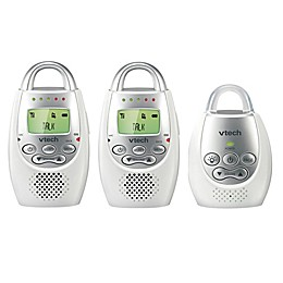 VTech DM221-2 Digital Audio Baby Monitor w/Talk-Back Intercom and 2 Parent Units