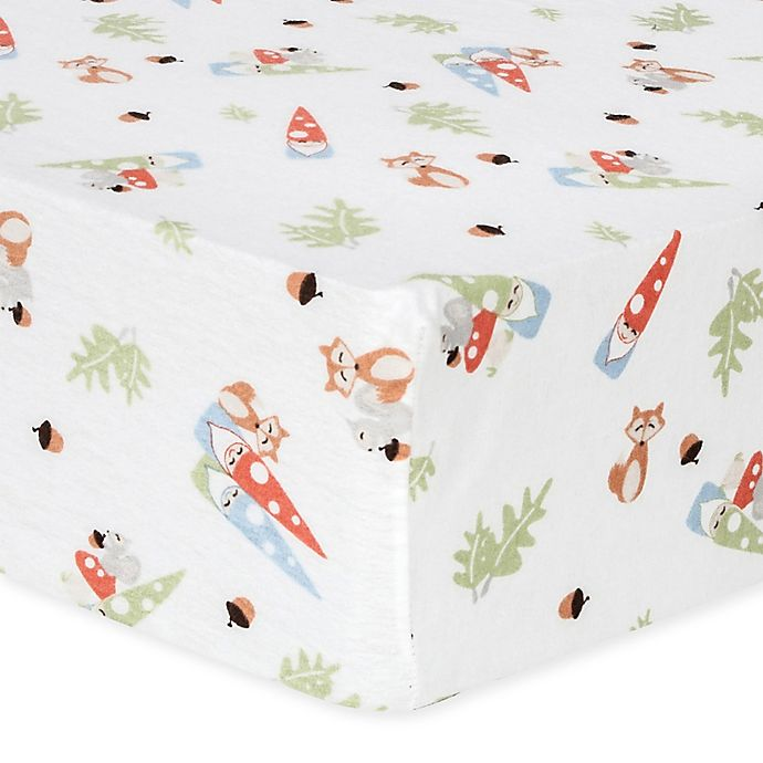 Buy Trend Lab 174 Forest Gnomes Flannel Fitted Crib Sheet