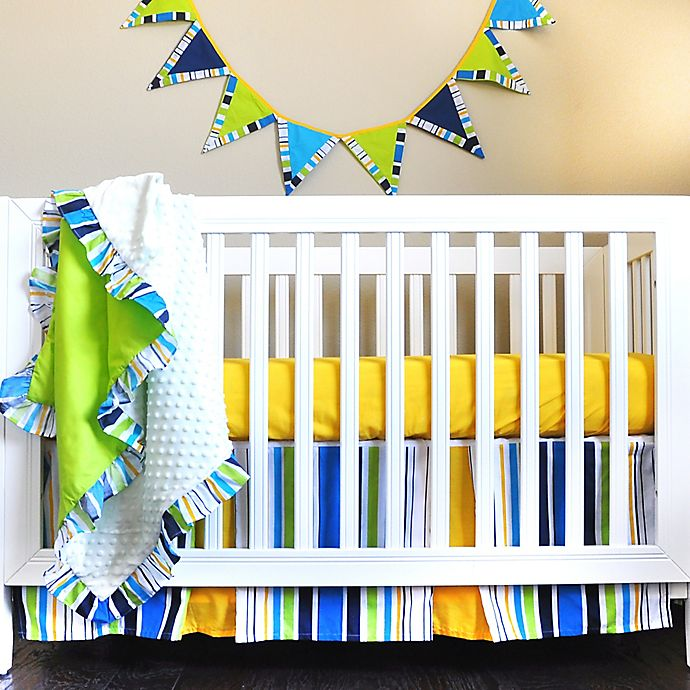 Rockstar 4 Piece Crib Bedding Set View A Larger Version Of This Product Image
