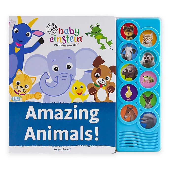 Alternate image 1 for Baby Einstein™ Amazing Animals: Play-A-Sound® Book