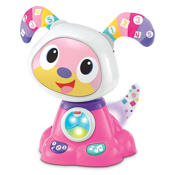 Alternate image 1 for Fisher-Price® BeatBowWow™ Toy Dog in Pink