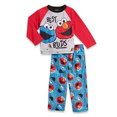 0f706babc Sesame Street® 2-Piece Elmo and Cookie Monster PJs