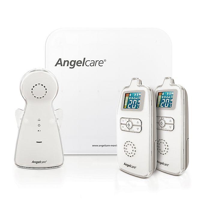 Alternate image 1 for Angelcare® Movement & Sound Monitor with 2 Parent Units