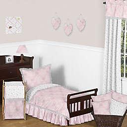 Sweet Jojo Designs Alexa Toddler Bedding Collection in Pink/Grey