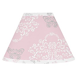 Sweet Jojo Designs Alexa Lamp Shade in Pink/Grey