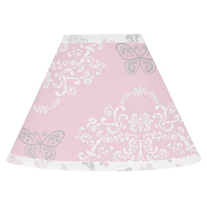 Alternate image 1 for Sweet Jojo Designs Alexa Lamp Shade in Pink/Grey