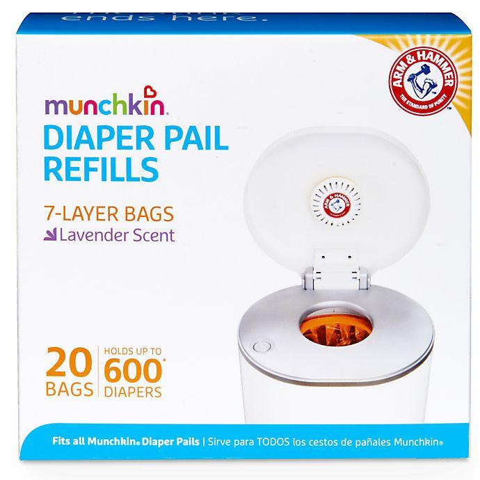 Alternate image 1 for Munchkin® 20-pack Arm & Hammer Diaper Pail Refill