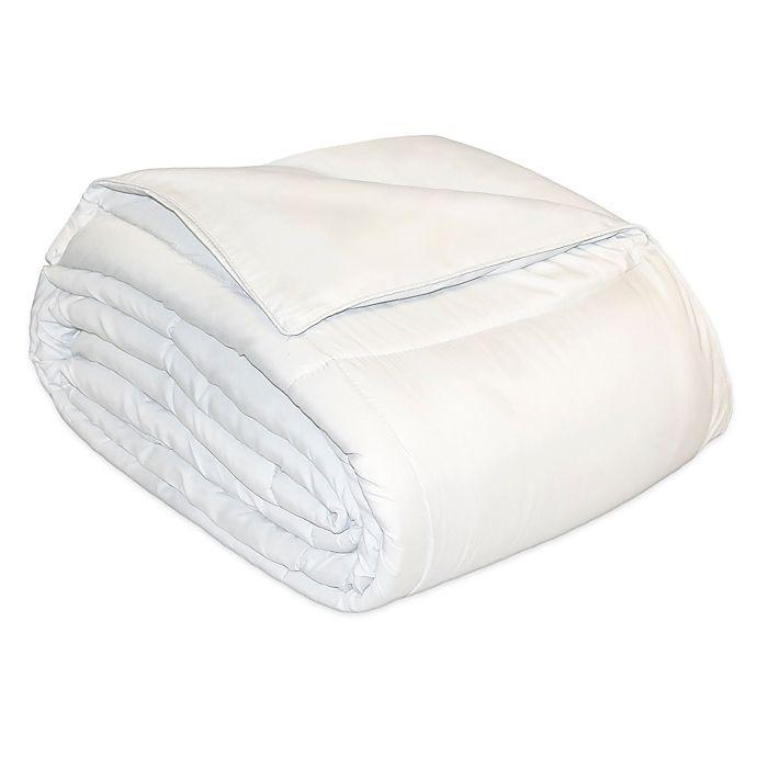 Alternate image 1 for Microfiber Natural Fill Comforter in White