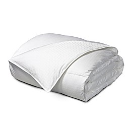 Feather and Down Reversible Comforter in White