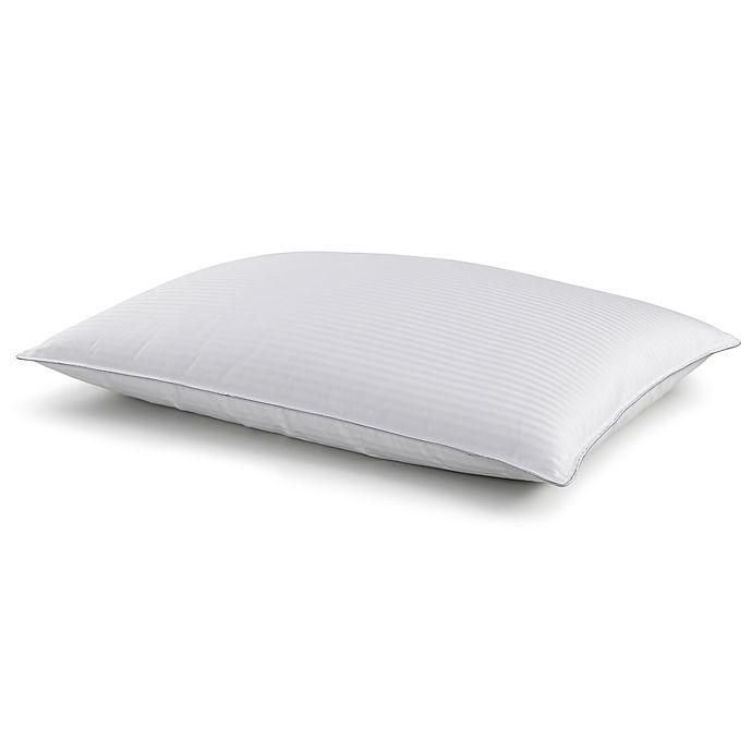 Alternate image 1 for The Seasons Collection® White Down Back Sleeper Bed Pillow