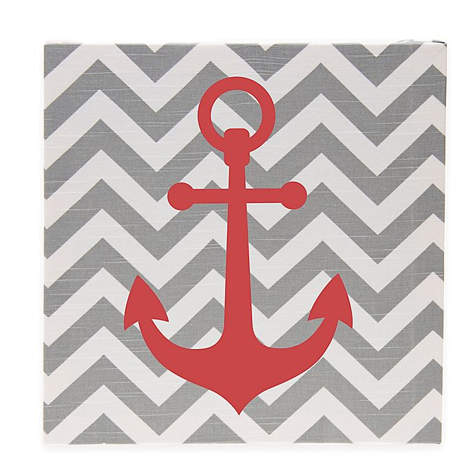 Alternate image 1 for Glenna Jean Fish Tales Canvas Anchor Art