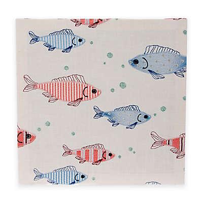 Glenna Jean Fish Tales Embroidery Wall Art