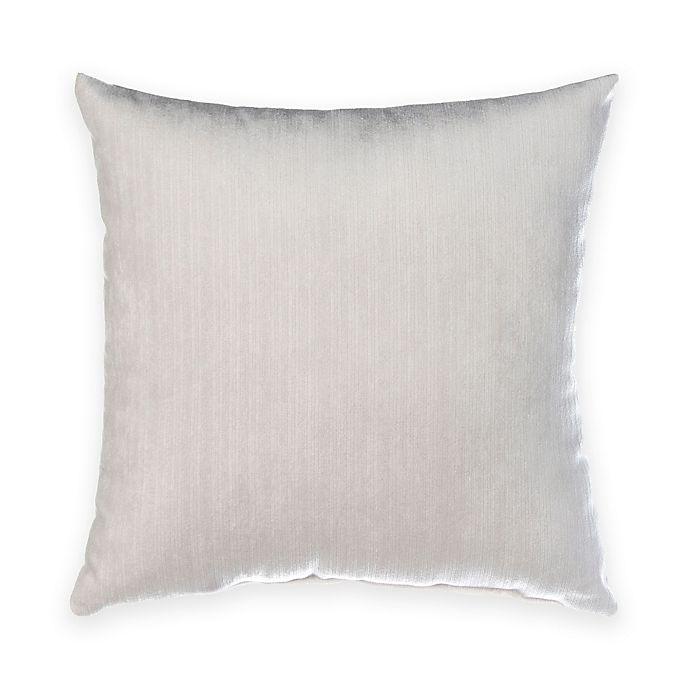 Alternate image 1 for Glenna Jean Fish Tales Velvet Throw Pillow in White